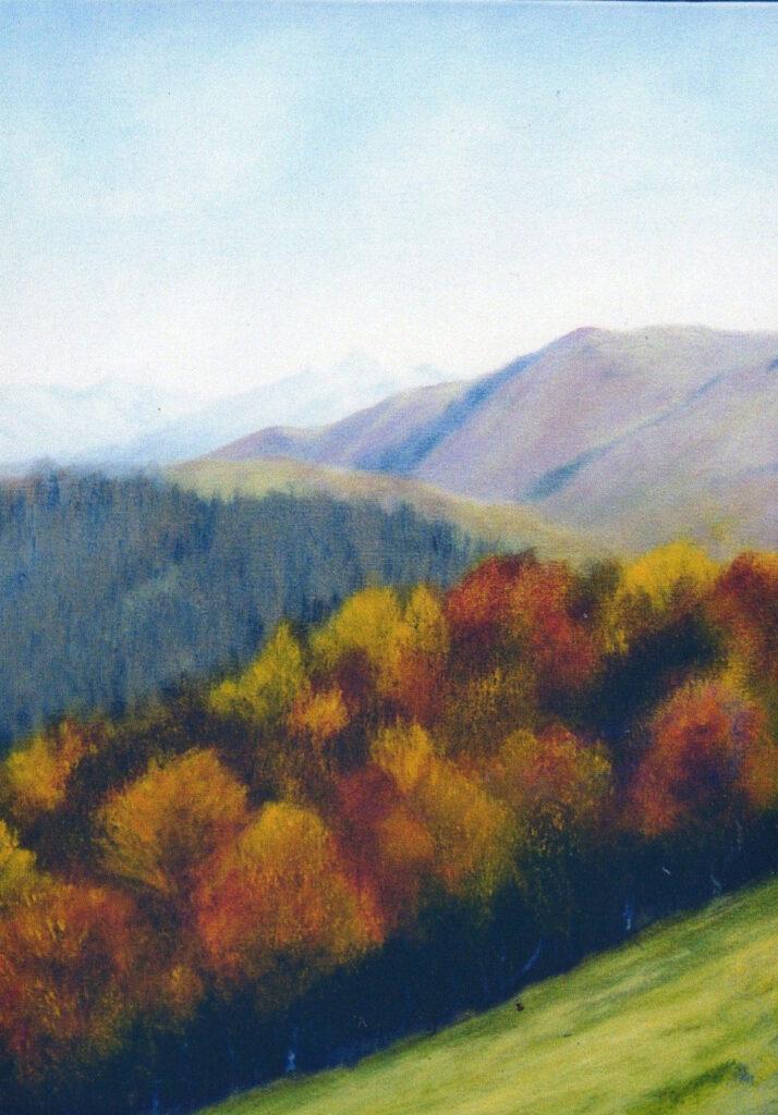 Le Piéjau (Ariège 09) montagne couleurs d'automne