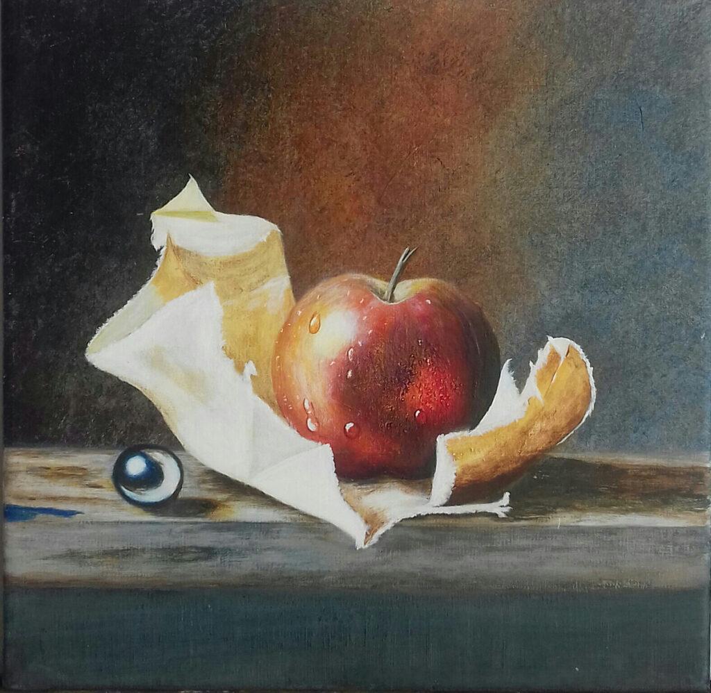 Pomme d'après Bruno LOGAN